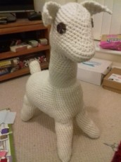 Hugo the Llama