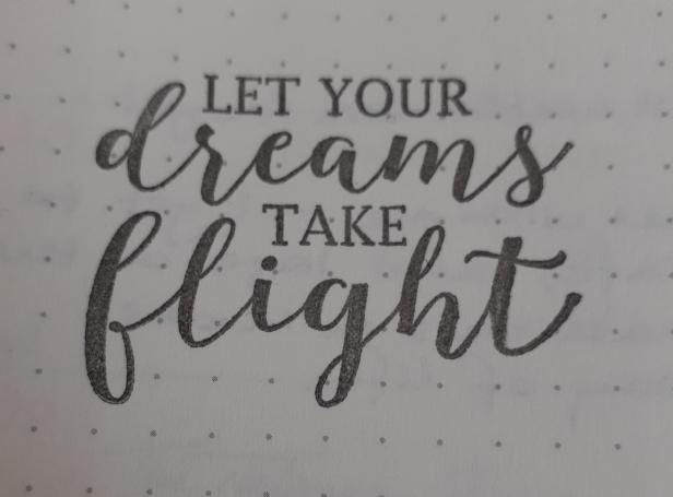 Stamp Let Your Dreams Take Flight